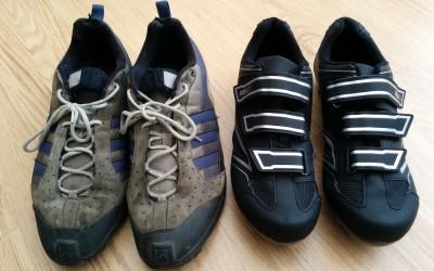 Nieuwe fietsschoenen :-) Update :-(