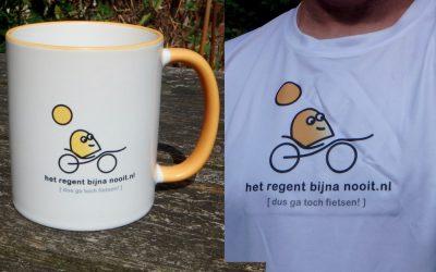 Nieuw shirt en beker (Feest! :-)