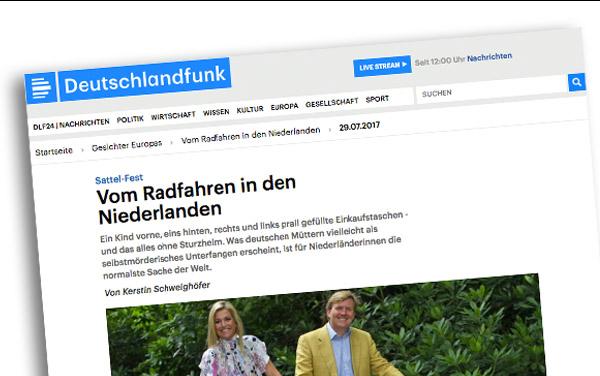 1 uur Duitse radio over de fiets in Nederland (met @bijnanooit)