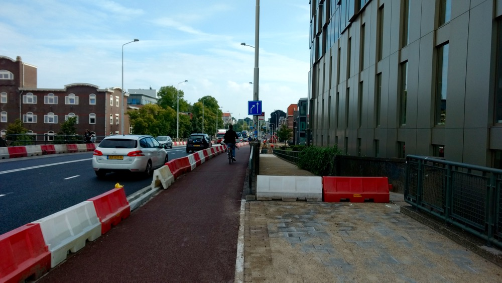 Meer ruimte voor fietser en voetganger Graafseweg Nijmegen